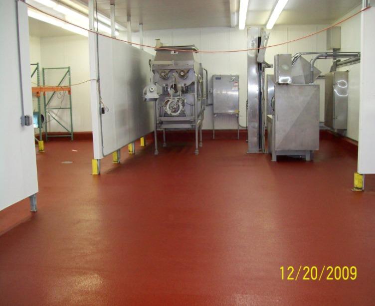 New Food Processing Room Floor Repair Mobile Enterprises